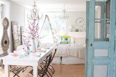 Casas Que Inspiran - Como conseguir una decoración Shabby Chic en 9 pasos   Casas Que Inspiran