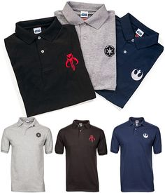 Star Wars Polo Shirts $34.99