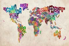 This would be a great visual to have up as we teach about different places around the world that animals live. It's inviting and colorful, and also useful for students to reference when trying to remember the different parts of the globe.