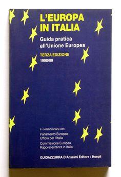 Guidazzurra L'europa in Italia  Progetto grafico di Daniele Turchi.