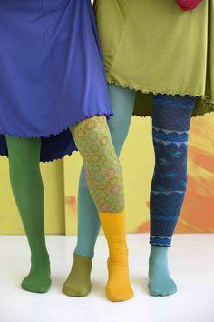 Gudrun Sjödéns Frühjahrskollektion 2015  - Entdecken Sie die hübsche Auswahl an Socken, Kniestrümpfen, Leggings und Strumpfhosen! http://www.gudrunsjoeden.de/mode/produkte/accessoires