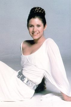 Carrie Fisher Leias ceremonial awards gown