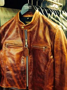 nice Brown Vanson Leather Jacket