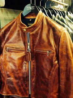 nice Brown Vanson Leather Jacket