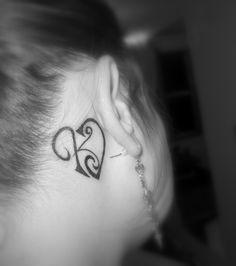 K Initial Tattoos tattoos on Pinterest   Letter K Tattoo, Initial Tattoos and Initials