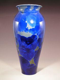 Ceramics by Matt Horne at Studiopottery.co.uk - 2011. Hand Thrown Crystalline Porcelain
