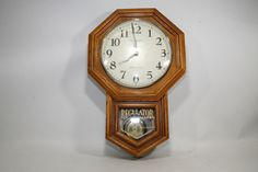 STERLING & NOBLE CLOCK CO. 792684220712 REGULATOR WESTMINSTER CHIME WALL CLOCK