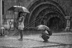 When rain is happiness... by João Gonçalves