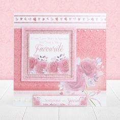 Hunkydory's Pearl Bouquet Card Collection features Luxurious Pearlescent Foil for truly stunning cards! Pearl Bouquet, Hunkydory Crafts, Hunky Dory, Thanks A Bunch, Blank Cards, Our Love, Red And Pink, Red Roses, Love Story