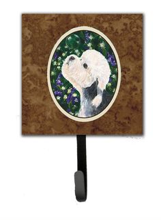 Dandie Dinmont Terrier Leash Holder and Key Hook