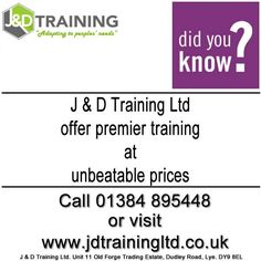 J & D Training offer forklift & plant training at unbeatable prices http://ift.tt/1HvuLik #forklift #training #safety #jobsearch