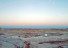 """""""Space Project"""" est une série de clichés réalisés par le photographe Vincent Fournier sur l'exploration spatiale à travers l'imaginaire de l'enfance."""
