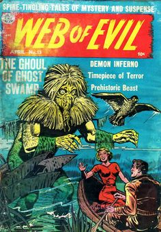 Comic Book Cover For Web of Evil v1 #13