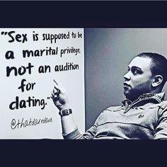 Not a popular position, but still true nonetheless. #sex #marriage #celibacy