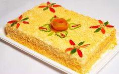 Torta salgada.