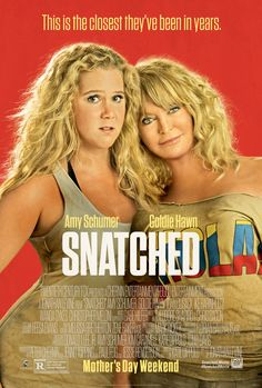 Snatched on DVD August 2017 starring Amy Schumer, Goldie Hawn, Wanda Sykes, Ike Barinholtz. After her boyfriend dumps her on the eve of their exotic vacation, impetuous dreamer Emily Middleton (Amy Schumer) persuades her ultra-cauti Hd Movies Online, New Movies, Movies To Watch, Good Movies, 2017 Movies, Film 2017, Imdb Movies, Latest Movies, Current Movies