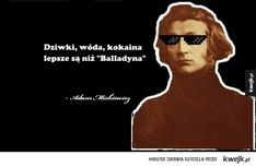 Słowacki vs Mickiewicz Fangirl, Haha, Mens Sunglasses, Jokes, Fandoms, Humor, Funny, Movie Posters, Tacos