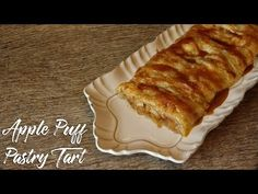 Delicious cinnamon, brown sugar apples enveloped in a light flaky puff pastry crust.what's not to love about this Apple Puff Pastry Tart? Puff Pastry Recipes, Tart Recipes, Apple Recipes, Baking Recipes, Steak Recipes, Baking Ideas, Homemade Desserts, Easy Desserts, Most Delicious Recipe