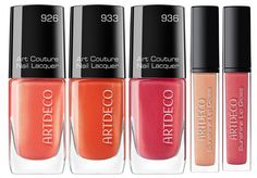 ArtDeco Here Comes The Sun Makeup Collection for Summer 2015 lip gloss and nail polish