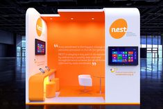 Nest Corporation on Behance Street Marketing, Guerilla Marketing, Print Advertising, Print Ads, Stand Modular, Carnival Images, Exhibition Booth Design, Exhibition Stands, Exhibit Design