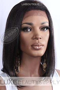 Buy IT Tress Human Blend Lace Front Wig in all the hottest colors at Luxe Beauty Supply. Human Lace Front Wigs, Synthetic Lace Front Wigs, 100 Human Hair, Human Hair Wigs, Wig Hairstyles, Natural Hairstyles, Beauty Supply, Lace Wigs, Skin Care Tips