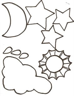 lds nursery color pages 8 i am thankful for the day night - Nursery Coloring Pages