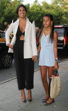 Rachel Roy and Ava