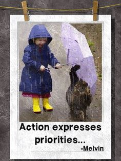 actions expresses priorities