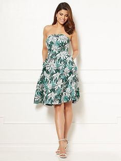 Eva Mendes Collection - Jacquard Del Mar Dress - New York & Company