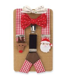 Amazon.com: Mud Pie Baby-Boys Newborn Holiday Tree Suspender and Bow Tie Set, Multi, One Size: Clothing