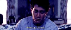 Donnie Darko - Gifs [[MORE]] I just needed this on my page Netflix Movies, Old Movies, Great Movies, Confusing Movies, Film Man, Stupid Guys, Cloud Atlas, John Malkovich, Gifs