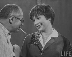 """Shirley MacLaine and Billy Wilder """"The Apartment"""" 1960"""