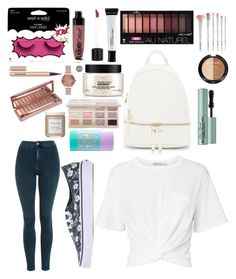 """""""Clean and basic"""" by livrj on Polyvore featuring moda, Wet n Wild, Urban Expressions, The Body Shop, Hourglass Cosmetics, Bliss & Grace, tarte, French Girl, Topshop y T By Alexander Wang"""