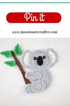 Crochet Butterfly Pattern, Crochet Applique Patterns Free, Crochet Coaster Pattern, Crochet Animal Patterns, Stuffed Animal Patterns, Crochet Patterns Amigurumi, Crochet Motif, Free Crochet, Crochet Appliques