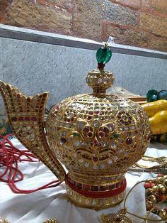 Crown of Vishnu from Melkote , Karnataka - GARUDA