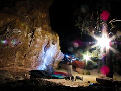Night Bouldering Session