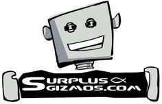 Surplus Gizmos.  Electronics doo dads to make your electronic projects come to life.  They are all about re-using and re-cycling.