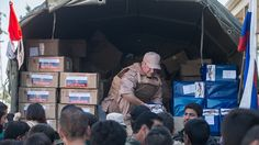 During the humanitarian operation the Russian military to convey to Syria about 900 tons of cargo.     Russian Defense Ministry reported Needy handed products, medicines and other essentials  In this case the military department spokesman Igor Konashenkov noted that particularly important to deliver humanitarian aid to the settlements, besieged by terrorists.