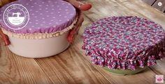 Come cucire un coperchio in stoffa per ciotole e piatti fondi. Video tutorial e spiegazioni scritte in italiano per realizzare coperchi su misure.