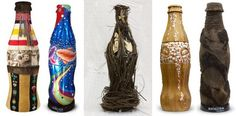 Aboriginal Coke Bottle Art at Vancouver 2010 - The Inspiration Room