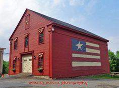 The Flag Barn - Mechanic Falls, Maine.