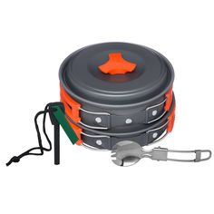 Arcadia Outdoors Cookware Mess Kit for Camping >>> Click image for more details.