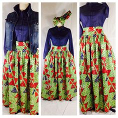 Authentic  Holland WaxAfrican Clothing The African by PFABdesigns