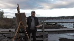 A short film about the norwegian painter Jonny Andvik, 2016