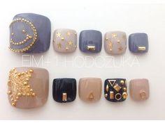 定額9000円コース Pedicure Designs, Toe Nail Designs, Feet Nails, Pedicures, Manicure Y Pedicure, Nail Inspo, Japan Nail Art, Abstract Nail Art, Feet Nail Design