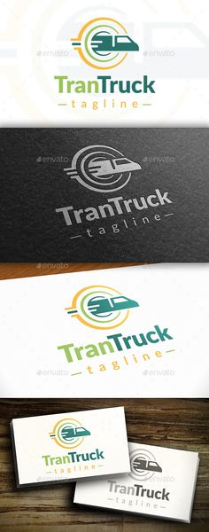 Transport Logo — Vector EPS #distribution #fast delivery service • Available here → https://graphicriver.net/item/transport-logo/10755355?ref=pxcr