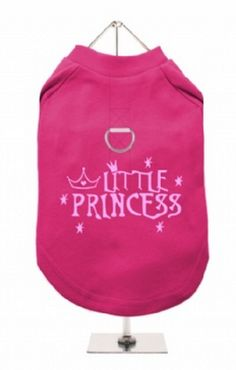 """Little Princess #2"" Harness-Lined Dog T-Shirt"