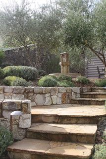 Stone Steps & Stairways - rustic - landscape - san francisco - by SBI Building Materials & Landscape Supplies