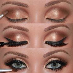 Stage Makeup. Adele style...an option for ballroom competition makeup