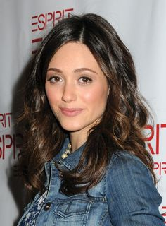 Emmy Rossum #HairWaves #Waves #Wavyhair #HairWithWaves #beauty #hair #hairproducts #professionalhairproducts #salonproducts #distributor #BeautyProDistributor I Heart Hair, Gorgeous Hair Color, Emmy Rossum, Mid Length Hair, Face Hair, Professional Hairstyles, Brunette Hair, Hairstyles Haircuts, Balayage Hair